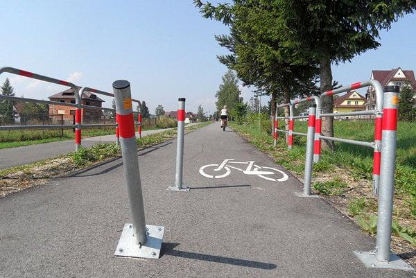 Cyklochodník z Trstenej do Noweho Targu.