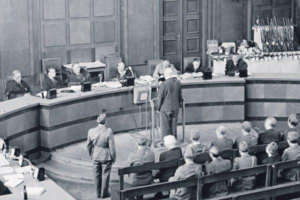 Politické procesy v päťdesiatych rokoch.