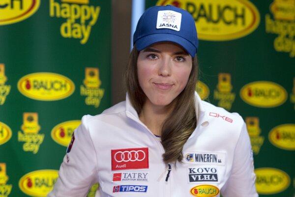 slovenská reprezentantka v alpskom lyžovaní Petra Vlhová.
