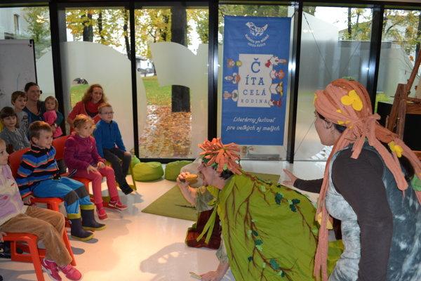 Potešia aj divadielka. Sobota bude v Kulturparku patriť rodinám s deťmi.