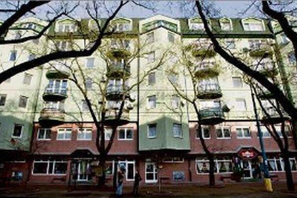 Byt z Gorily na Vazovovej ulici v Bratislave.