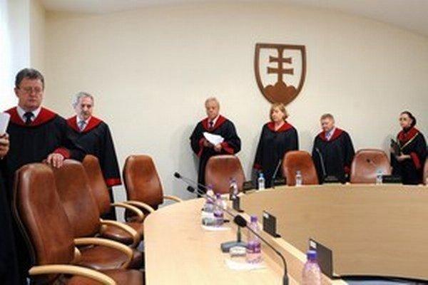 Sudcovia Ústavného súdu.