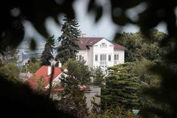 Vila na Slavíne.