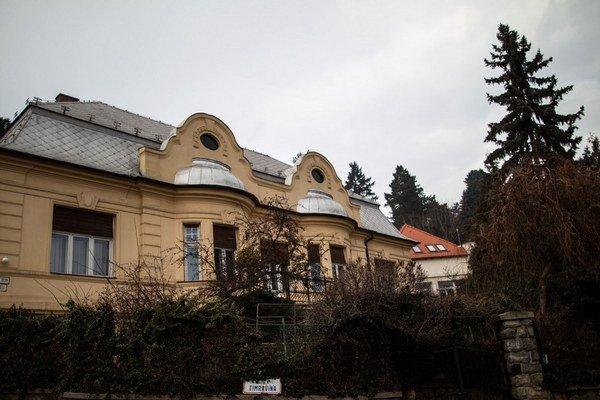 Vila pod Slavínom.