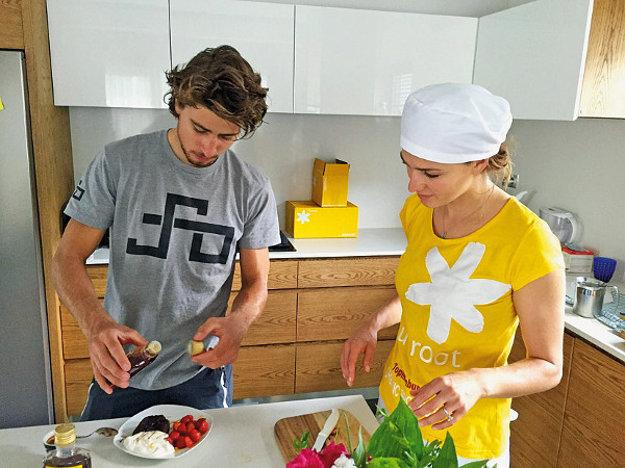 Katarína a Peter Saganovci dbajú na zdravú stravu