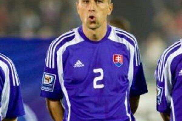 Martin Petráš v slovenskomd drese.