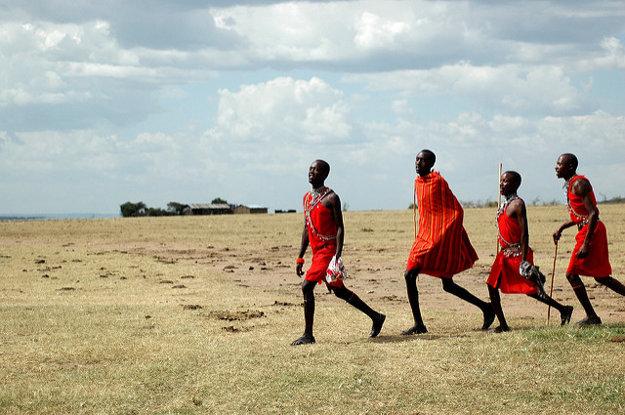 Masajovia sú najznámejším, hoci nie najväčším domorodým kmeňom Tanzánie.