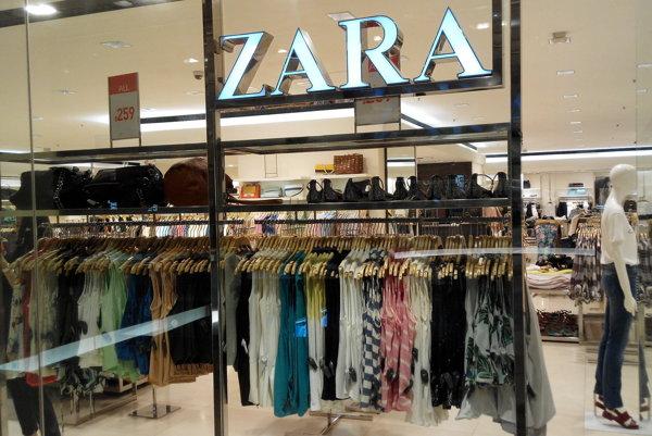Utečenci pracovali aj vo fabrike, ktorá dodáva odevy pre spoločnosť ZARA.