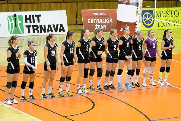 Trnavské volejbalistky čakajú na prvé víťazstvo v extralige.
