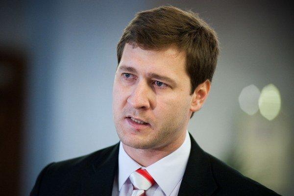Poslanec za Obyčajných ľudí Miroslav Kadúc.