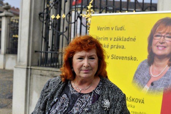 Ľubica Blašková.