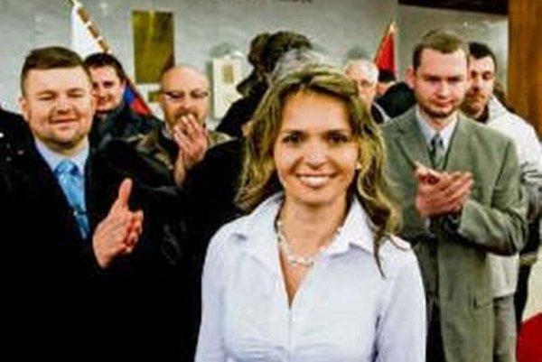 Poslankyni Mezenskej priniesli mnoho obdivovateľov najmä jej zapálené prejavy.