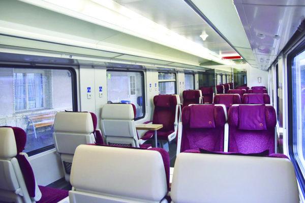 Do IC vlakov zaradia štátne železnice to najlepšie, čo majú.
