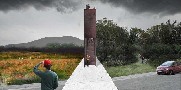 Monument by mal súčasne plniť funkciu vyhliadky.
