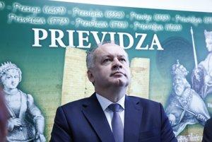 Prezident SR navštívil Prievidzu a Bojnice.