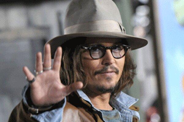 Herec Johnny Depp hrá vo filme Turista.