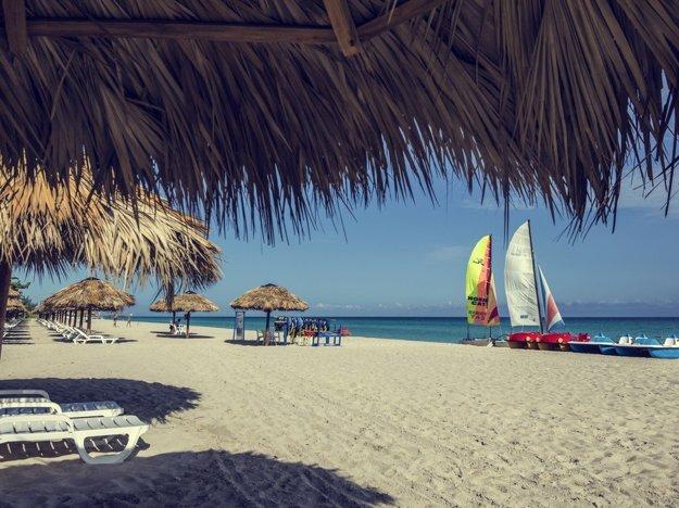 Pláž pri hoteli Coralia Club Playa de Oro(4*).