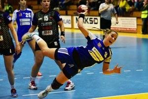 Pivotka Barbora Königová prispela k víťazstvu siedmimi gólmi.