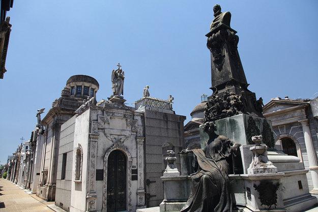 Cintorín La Recoleta.