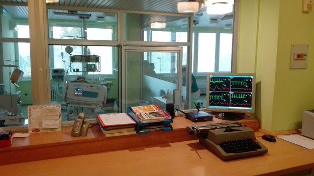 Oddelenie anesteziológie a intenzívnej medicíny.