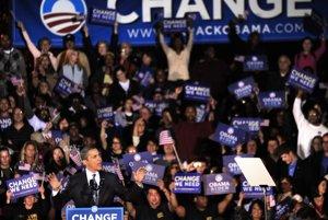 Obama Američanom sľuboval zmenu.