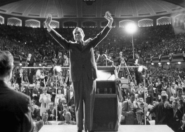 Exprezident Richard Nixon, ktorého kauza Watergate stála funkciu.