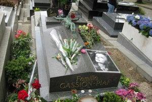 Hrob Edith Piaf.