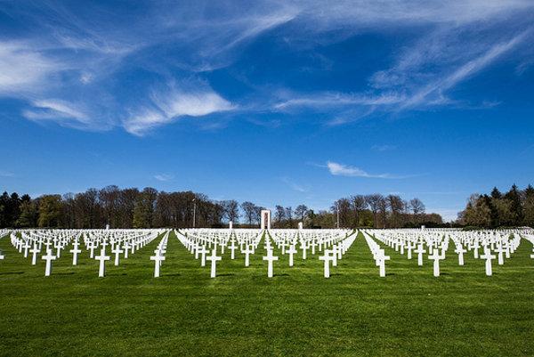 Cintorín americkej armády Luxembourg.