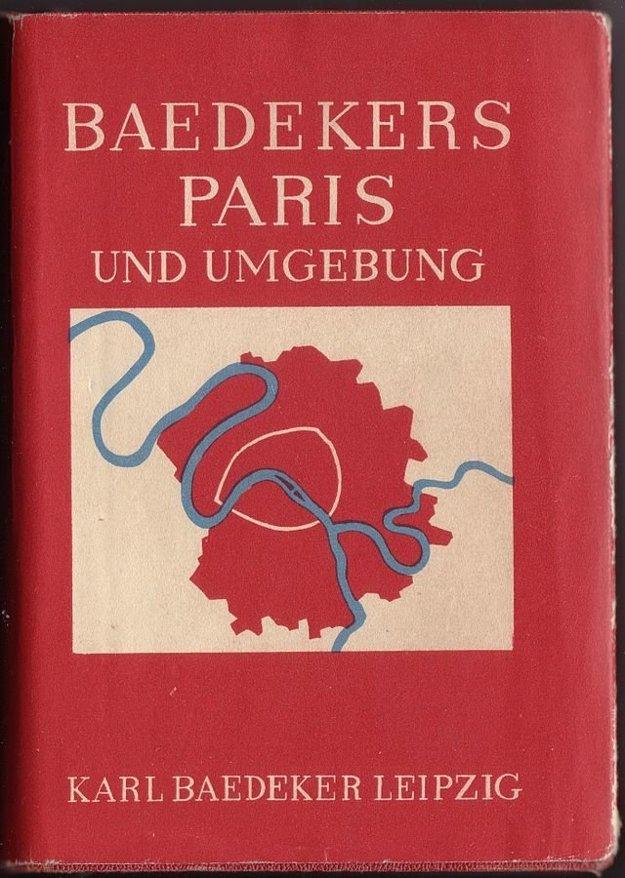 Vydanie turistického sprievodcu po Paríži z roku 1931.