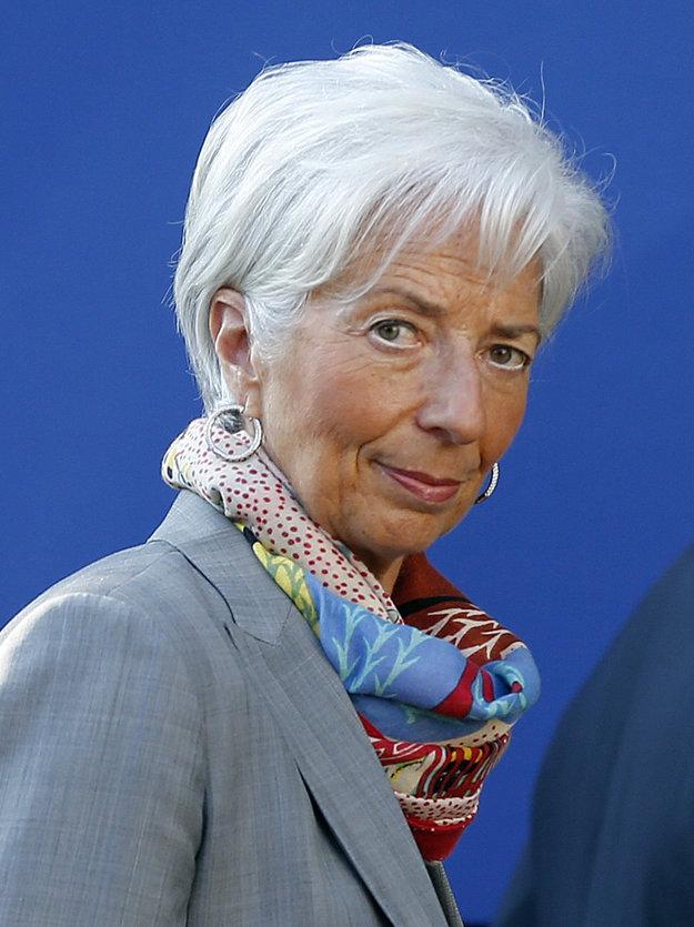 Christine Lagarde, generálna riaditeľka Medzinárodného menového fondu