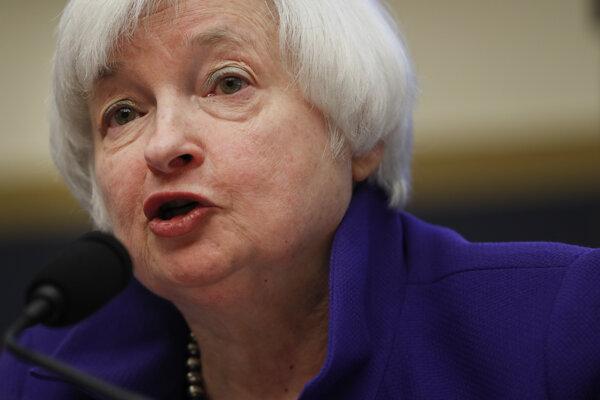 Šéfka Fed Janet Yellenová