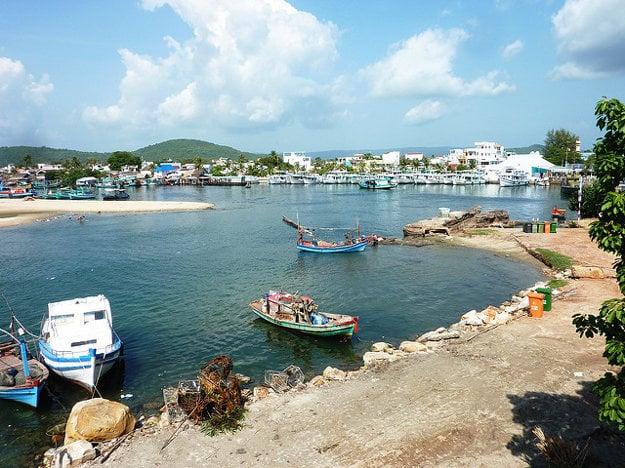 Duong Dong je hlavné mesto ostrova a centrom turizmu na Phu Quoc.