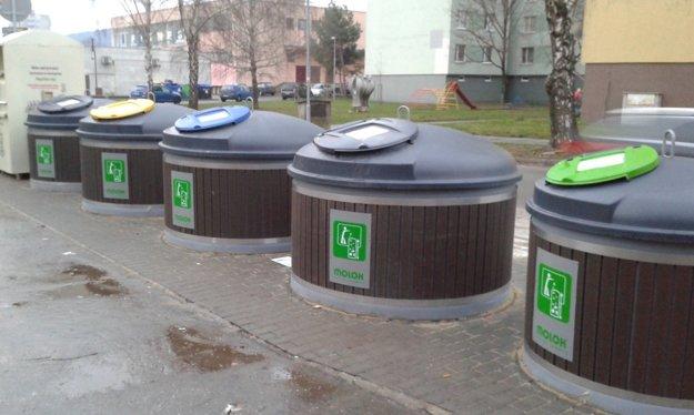 V Trenčíne už pilotne využívajú polopodzemné kontajnery.