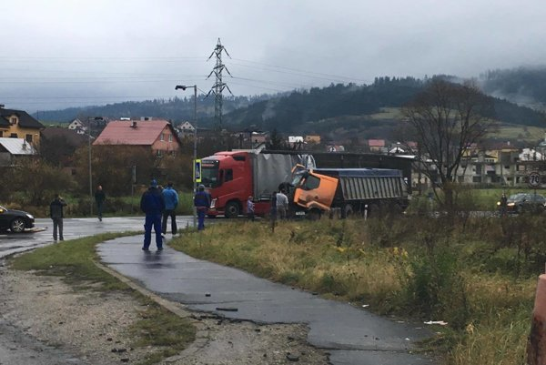 Nehoda vyzerala už na prvý pohľad hrozivo.
