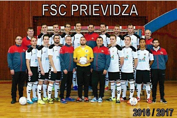 Mužstvo FSC Prievidza.