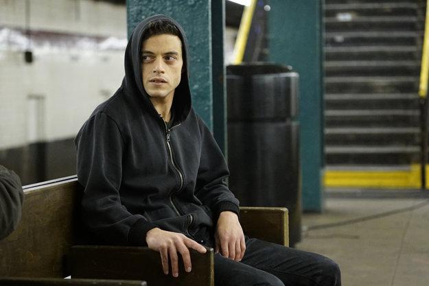 Úspešný seriál Mr. Robot dokázal Malek potiahnuť len svojou tajuplnou postavou.