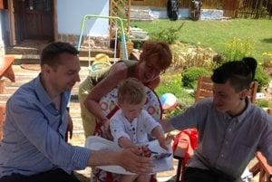 Na chalupe s rodinou