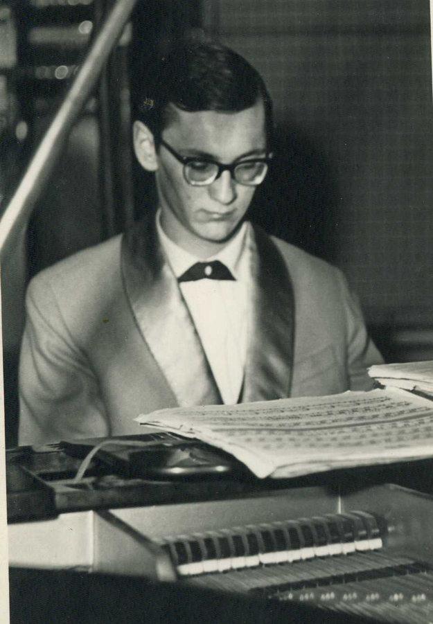 Eugen Gnoth hral v tanečnej kape už ako 16-17-ročný.