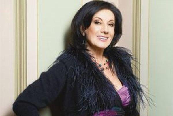 Sedemdesiate piate narodeniny oslavuje česká speváčka sériou koncertov. Ten košický sa začína dnes v Dome umenia o 19.00 hod.