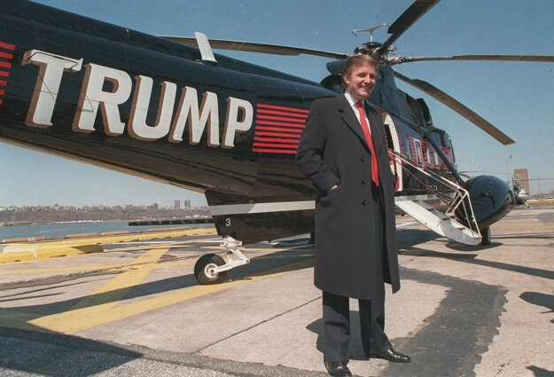 Donald Trump v roku 1988, teda v čase, keď Oliver Stone nakrúcal svoj prvý film o Wall Street.