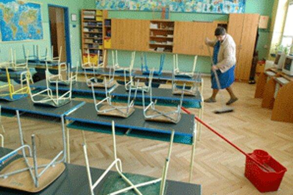 Pre chrípku je v Prievidzkom okrese zatiaľ zatvorená jedna škola.