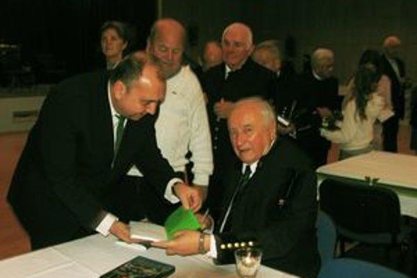 Marián Krčík podpisoval svoju najnovšiu knihu.