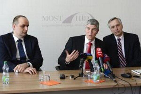 Pavol Frešo, Béla Bugár a Ján Figeľ.
