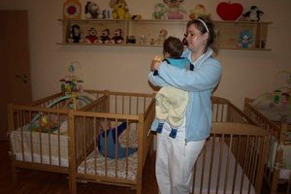 Útulné detské izby sú pre menší počet detí.