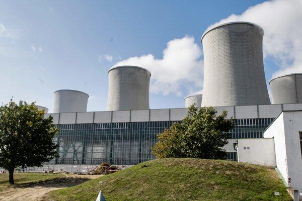 Atómová elektráreň v Jaslovských Bohuniciach.