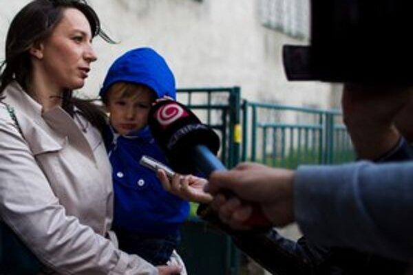 Hedviga Žáková-Malinová je matkou dvoch detí.