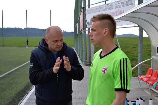 Miroslav Barnáš. Tréner Spišskej Belej je spokojný.