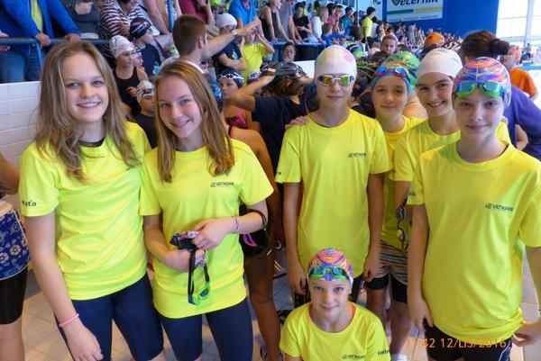 Mladí plavci z Liptova