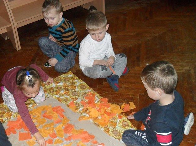 Deťom sa podujatie veľmi páčilo.