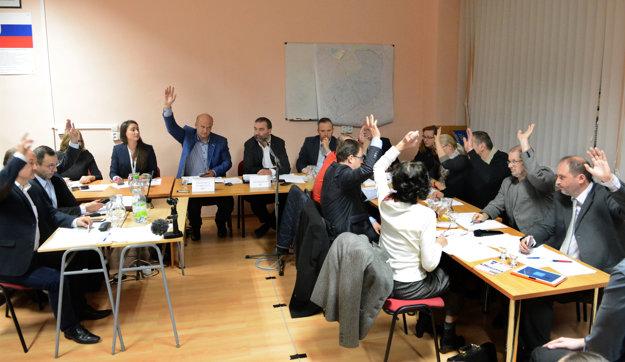 Všetci do jedného boli proti. Rešpektovali pondelkové odporúčanie komisie rozvoja, ktorá mala k systému EEI výhrady.